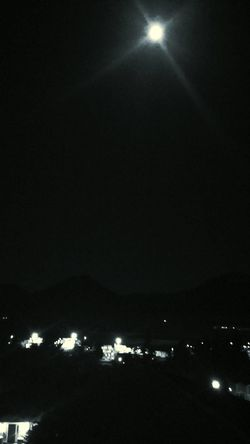 Black & White Black As Night Bright Moon Orb Sleepless Nights