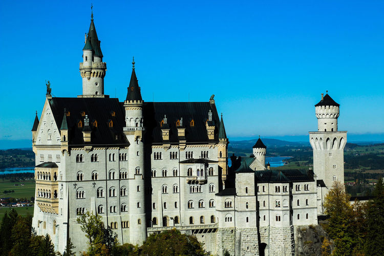 Architecture Building Exterior Built Structure Clear Sky Cultures Fairytale  History Neuschwanstein Castle Outdoors Sky Tower Travel Destinations The Architect - 2017 EyeEm Awards