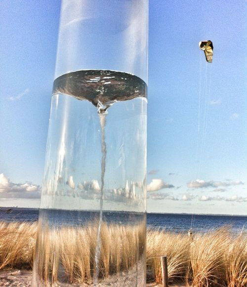 Swirl Vortex ArtWork Baltic Sea Balticsea Seaside At The Sea
