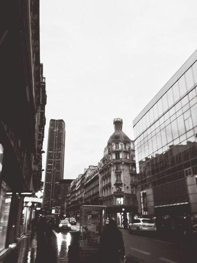 It was a rainy day! Blackandwhite Street Photography Cityscapes Rain