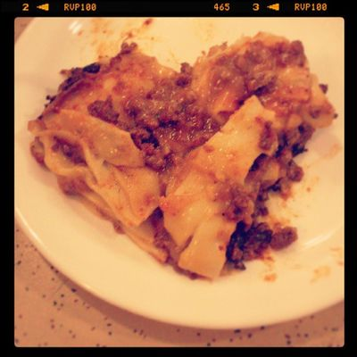 One of the perks of being a volunteer on board is being able to eat the awesome food like lasagna! Lasagna Garfield LogosHope
