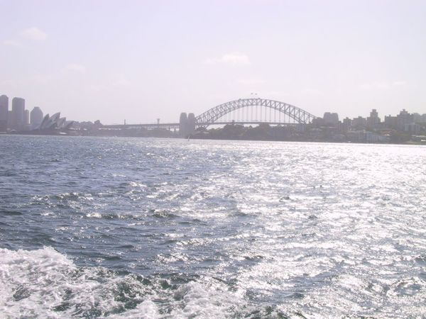 View to SydneyHarbourBridge Water Boat Ferry EyeEmAustralia