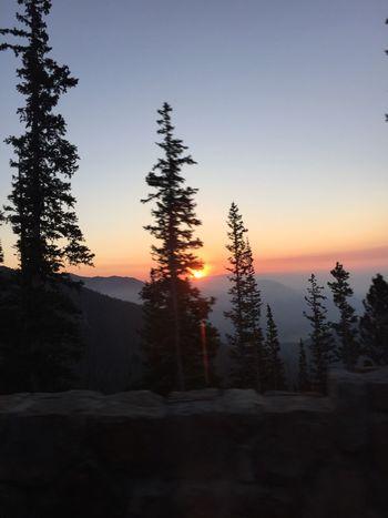 Hikingphotography Estes Park, CO Rockymountainnationalpark Smokey Sunrise