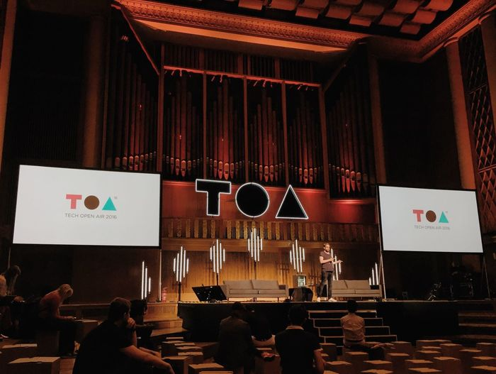 Conference Toa16 Funkhaus TOA Stage Organ