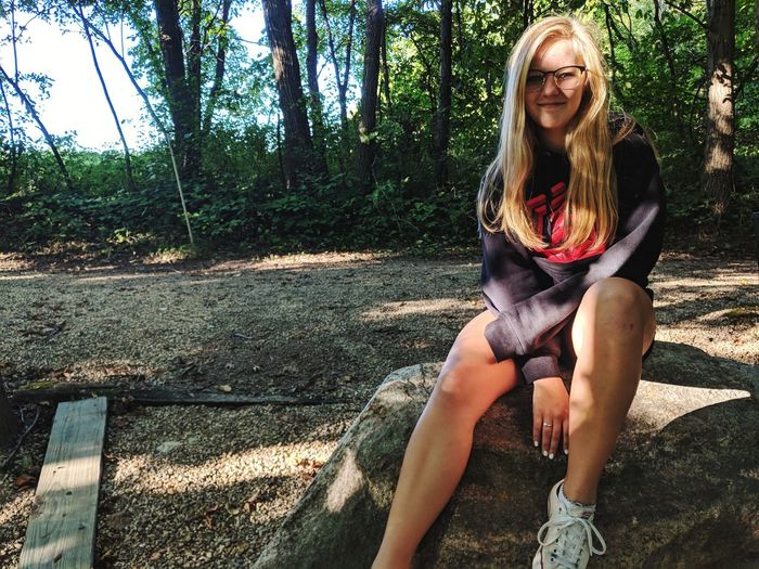 """""""Perfection? No. But pretty damn close."""" Backgrounds Green Girl Woman EyeEm Selects Day Sunset Wood - Material Chain Branch Springtime Sun Blurred Background Simple Beauty In Nature Beauty Young Women Tree Sitting Full Length Blond Hair Front View Beautiful Woman Park - Man Made Space Park Bench Friend Depression - Sadness Growing Posing Thoughtful"""