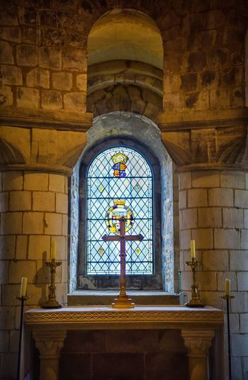 Indoors  Religion Place Of Worship Window History Architecture No People Spirituality Arch Built Structure Day Close-up