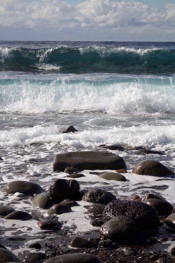 Eoskissx7i Canon Hachijo-island Hachijojima 八丈島 Sea Waves Stone OpenEdit Heights