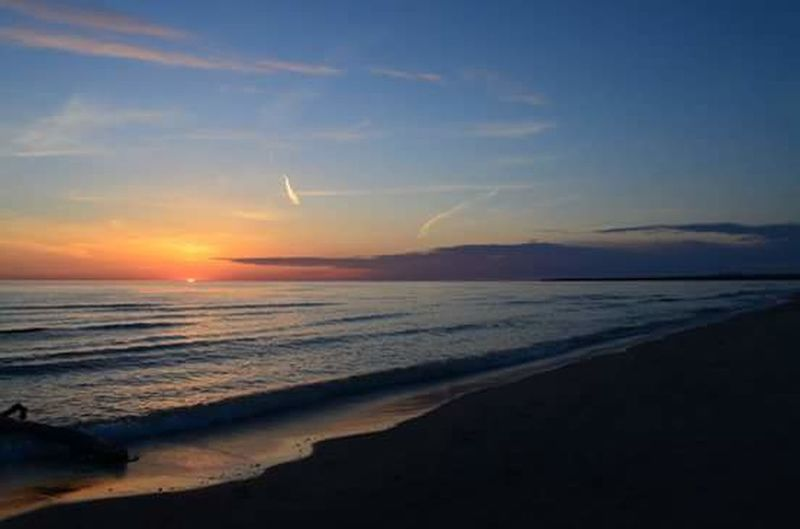 Sundown Sky_collection Sky And Clouds Beachday Colourful Sky Gorgeous Beach Gorgeous Day Summertime Awesome_shots Adventure Time Naturelovers Sky_ Collection Beachphotography Water_collection Beautiful Beach Sunset_collection