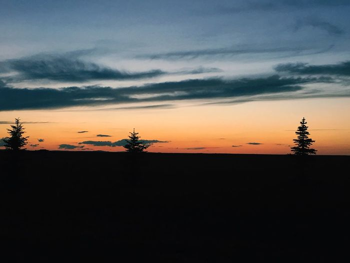 Wyoming sunsets are the best! Nature Sky Sunset Silhouette Outdoors Landscape Wyoming