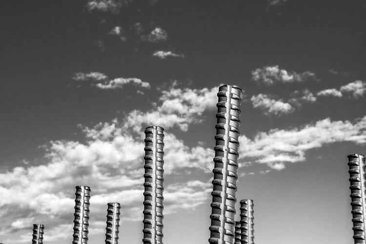 Iron - Metal Ironwork  Tubular Steel Tubular Steel Steel Structure  Lines Lines In The Sky ArtWork Artistic Photo Minimalism Obsesion No Symmetry Monochrome Black & White Blackandwhite Photography Rare View Industrial Metal Metallic Metal Industry Metalwork Metalic Metalic Structure Acero Inoxidable