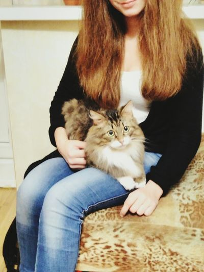 Pets One Animal Indoors  Dog Sitting Portrait Love Home Interior Pet Owner Lifestyles Two People Looking At Camera Affectionate Domestic Animals Smiling Bonding People Friendship Adult Women люблююю ❤❤❤ Сульфат First Eyeem Photo Hairdresser Business Finance And Industry