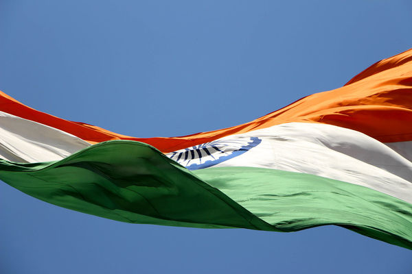 My country, My PRIDE Bharat Blue Sky Clear Sky Day EyeEm Gallery Flag Green Hindustan India Low Angle View National Flag Patriotism Saffron The Week On Eyem Tricolor Wave Waving Windy Day EyeEmNewHere The Week On EyeEm