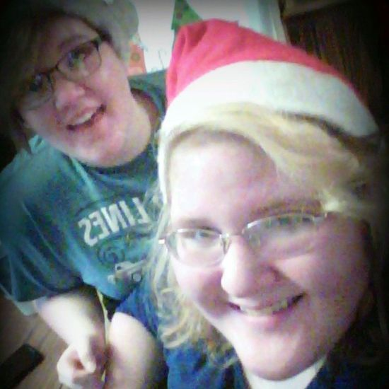 Sissy-poo and I Make Up Sissy  Hazel Eyes  Happy Smile Blonde_and_red_hair