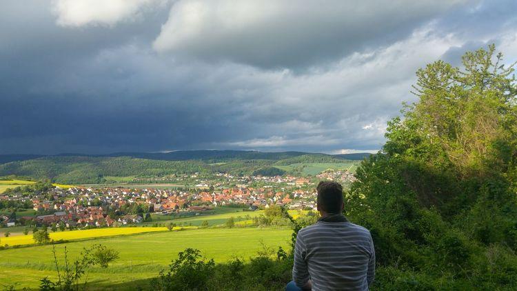 Heimat Home Dorf Dorfkind Einsturmziehtauf Rausaussemhaus