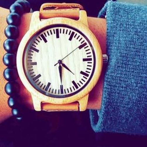2017 New Look Sunday Wood Braclet New Style Summer Watche Shop First Eyeem Photo
