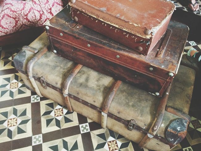 Old luggages Traveling