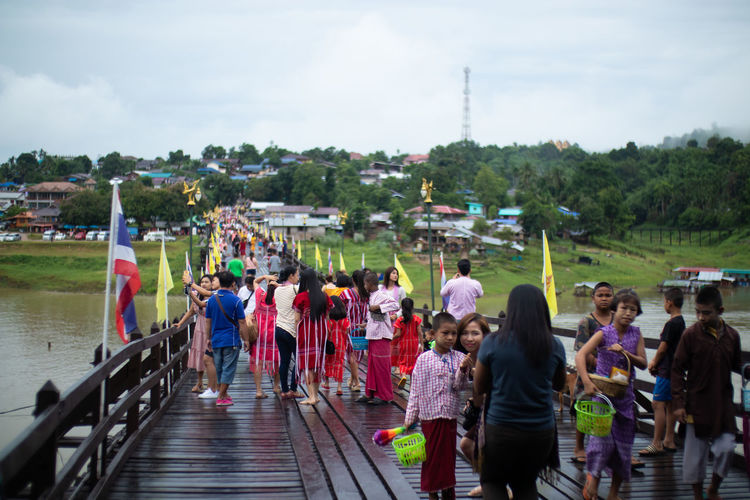 Many Tourists
