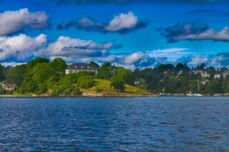 oslo panorama of Bigdoy Beauty In Nature Bigdoy Calm Cloud Clouds And Sky Distant Lake Lakeshore Nature Outdoors Reflection Scenics Sea Sky Standing Water Tranquil Scene Tranquility Tree Tropical Climate Vacation Voyage Water Waterfront