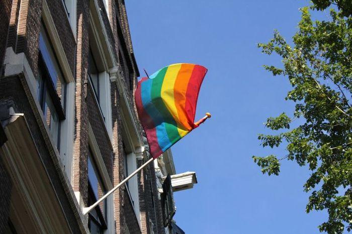 Pride Queer Amsterdam Flag