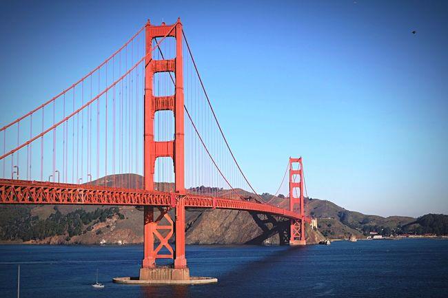 golden gate bridge Enjoying Life Hello World