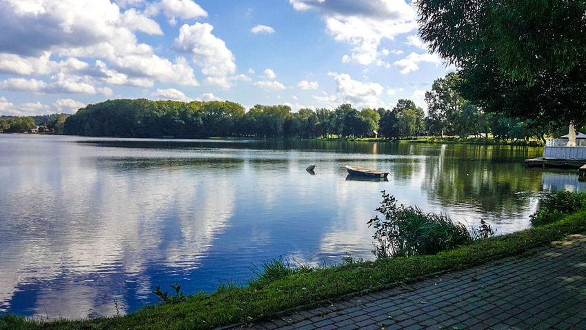 #Holidays #Lake #Poland #Walk #beginner... For Now #greatday #greattime #fun #exploring #love #loveit #photography #sky #sunset #sun #clouds #skylovers #sky #nature #beautifulinnature #naturalbeauty #photography #landscape #trees #uwielbiam #water