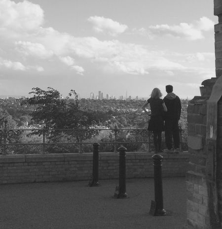 Looking at London Cityscapes Black & White Alexandrapalace