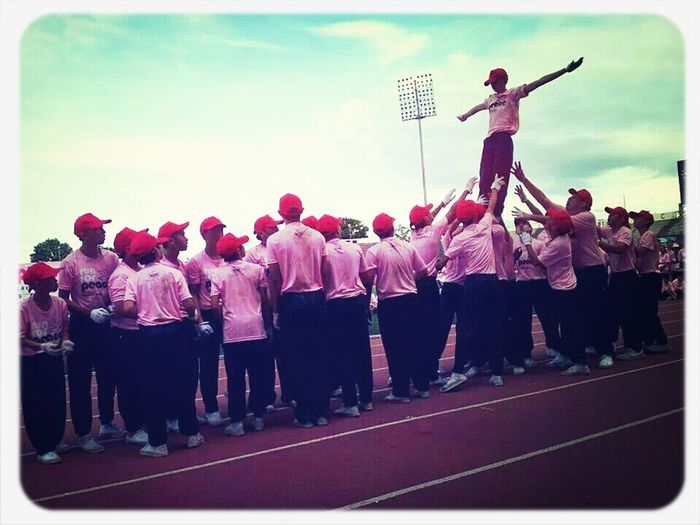 【Run For Peace 2013】Gym Performance Happysunday Gymnastics Peaceful Boys