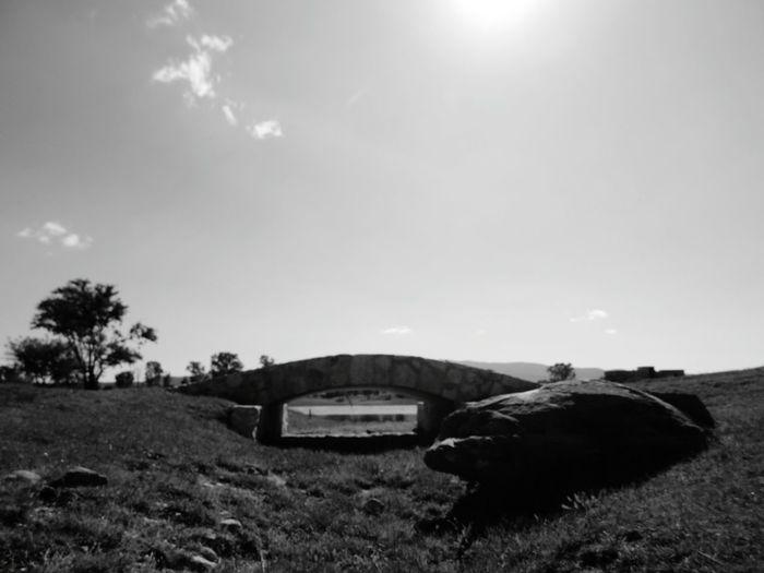 Black & White Black And White Landscape Golf ⛳ Bridge EyeEm Best Shots - Black + White