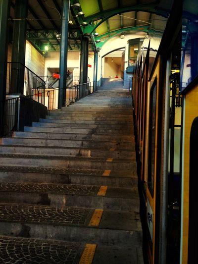 Funicolare Funicolare Napoli Colors City Citta Lines Linee Viaggio