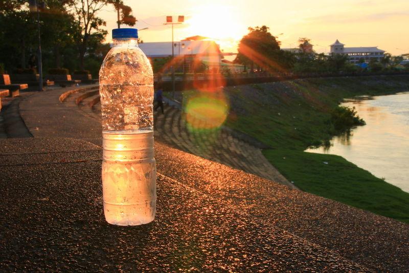plastic water