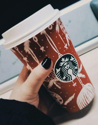Always Be Cozy First Eyeem Photo Hotchocolate Starbucks Coffee Freezing ❄