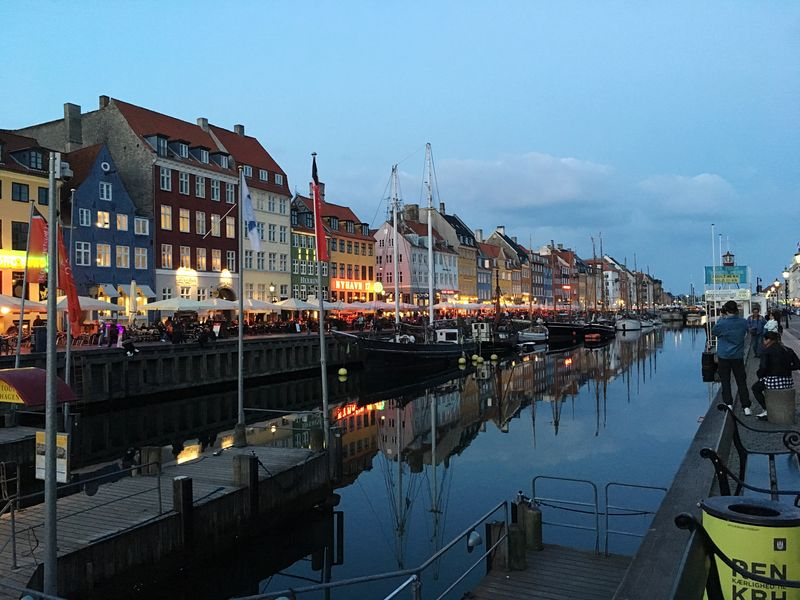Architecture Built Structure Nautical Vessel Building Exterior Reflection Sky Mode Of Transport Travel Destinations Water Transportation Outdoors Cloud - Sky Moored No People Harbor Day Mast City Copenhagen, Denmark Nyhavn Frainf Your Ticket To Europe