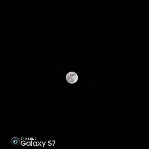 Moon Nightphotography Dark Photography Black And White Samsung Galaxy S7 Samsungphotography