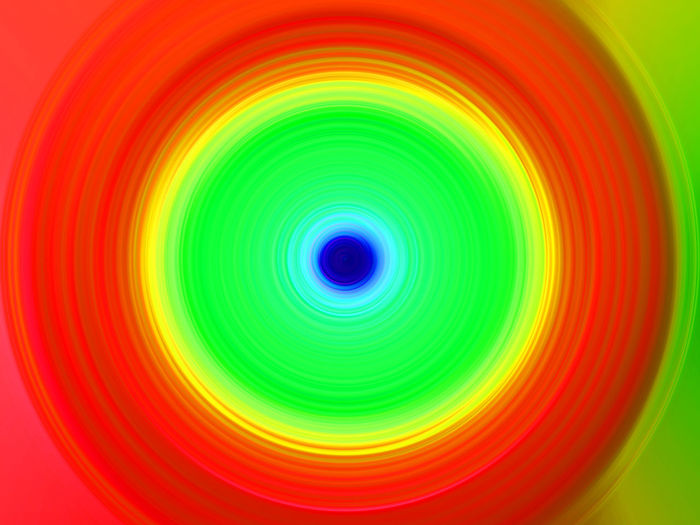 Abstract image of multi colored light