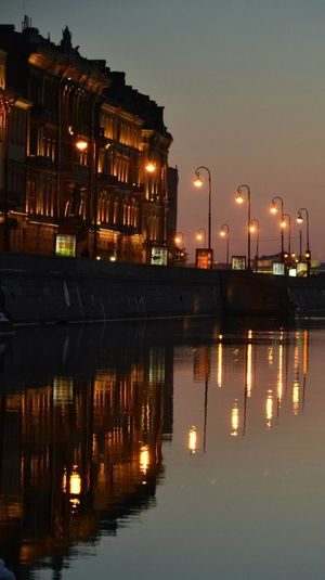Cities At Night Saint Petersburg Relaxing