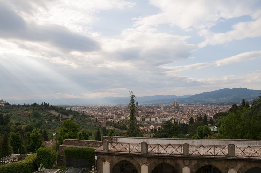 Beauty In Nature Built Structure City City Cityscape Cityscapes Cloud Cloud - Sky Cloudy Day Florence Idyllic Italy Landscape Nature Outdoors Residential District Scenics Sky Tourism Tranquil Scene Tranquility Travel Destinations Tree