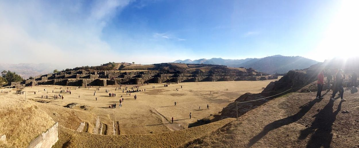 Travel Old Ruin Famous Place Panoramic Inca City Cusco Cusco, Peru