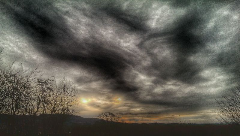 can enyone explain why I see Two Suns Wow!! Hdr_Collection Wales You Beauty Welshpool Light And Shadow There Be Dragons Clouds And Sky Cloud_collection  Snapseed Weather Pro: Your Perfect Weather Shot
