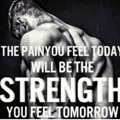 If it hurts today trust me tomorow your going to be stronger then you were yesterday Fitnessfreaks FitnessFreak Fitness Fitnessrules fit fittnessadict fitnesslife FITNESS_FREAK workhard never neversayno neversurrender neverstop neverquit nevergiveup IMBACK