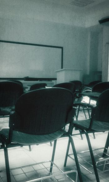 Class Room Empty Chair
