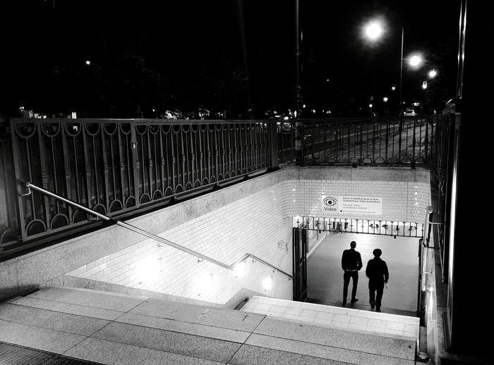 Day 351 - 🇧🇪 vs 🇮🇹 Berlin Blackandwhite Monochrome Photography Public Transportation Football 365project 365florianmski Day351