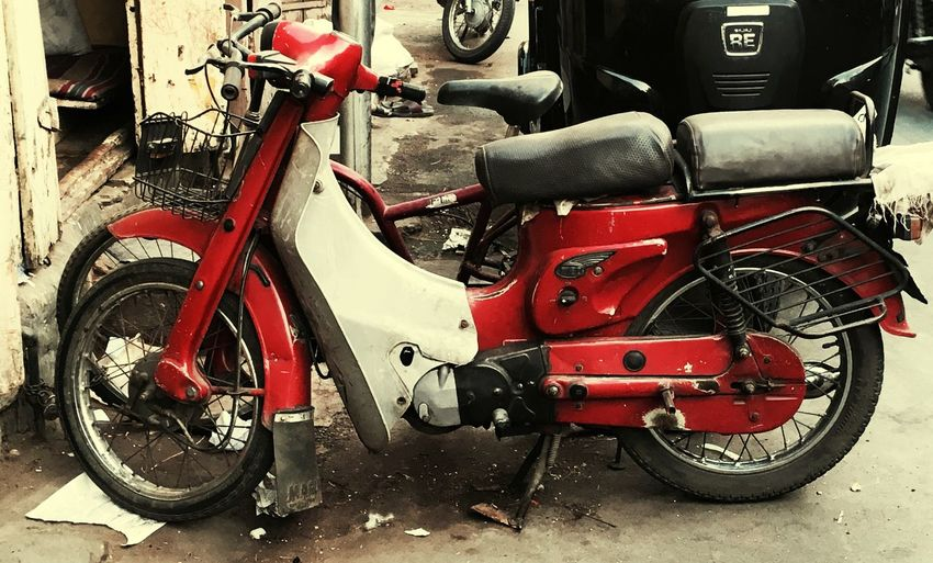 Red Old Bike