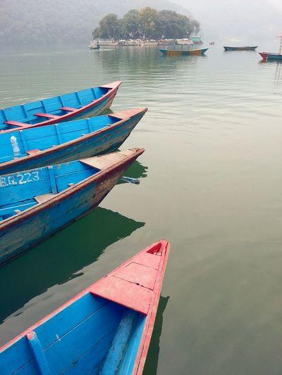Showcase: January Boats Peaceful View Lakeside