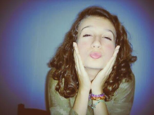 Kiss That's Me Enjoying Life