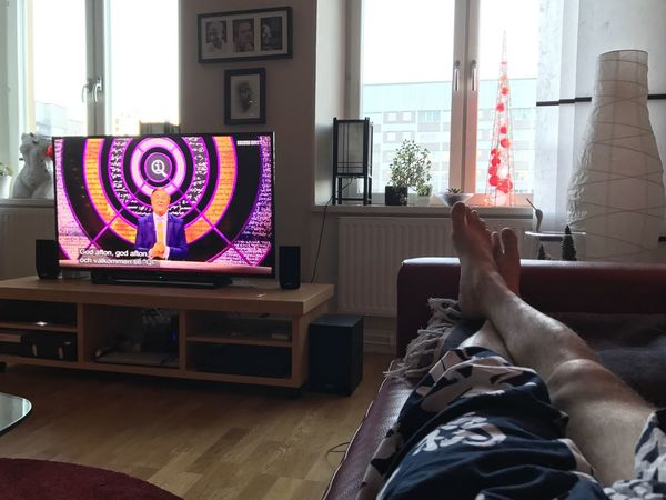 Window Indoors  Living Room One Person Qi 2017 january 1