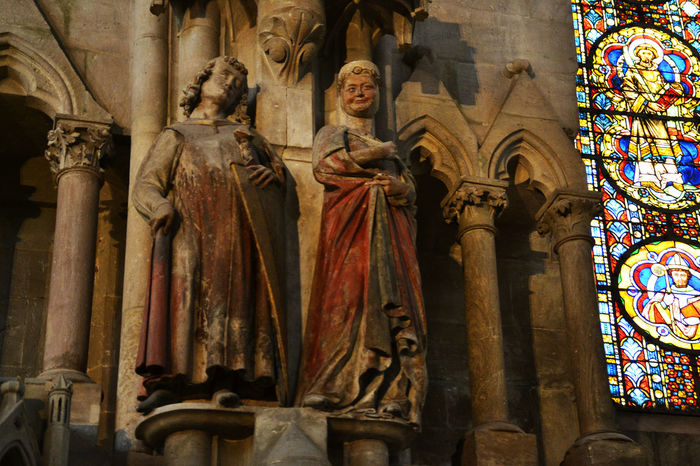 1000 Years Old Animals Arch Art Art And Craft Built Structure Church Creativity Famous Sculpture History Human Representation Low Angle View Medivial Naumburg Naumburger Dom No People Religion Sculpture Spirituality Statue Tourism