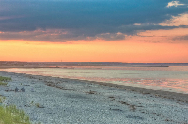 Wedding Sunset on Cape Cod Beach Beauty In Nature Cloud - Sky Day Horizon Over Water Landscape Marram Grass Nature No People Outdoors Sand Scenics Sea Shore Sky Sunset Tranquil Scene Tranquility Water