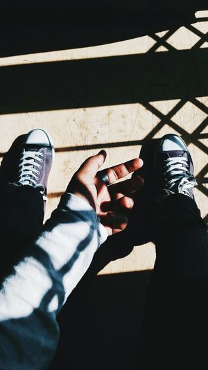 Let the light in to make the darkness flee 🌚 Human Body Part Shadow Sunlight Two People Only Men Adults Only Leisure Activity People Men Adult Day Outdoors Close-up Human Hand Long Goodbye Welcome To Black EyeEmNewHere First Eyeem Photo