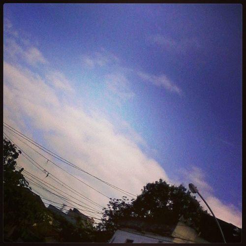 Será que o sol aparece hoje ?? Bomdia