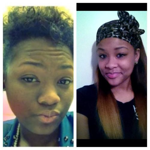 They say my cousin and I look alike lol